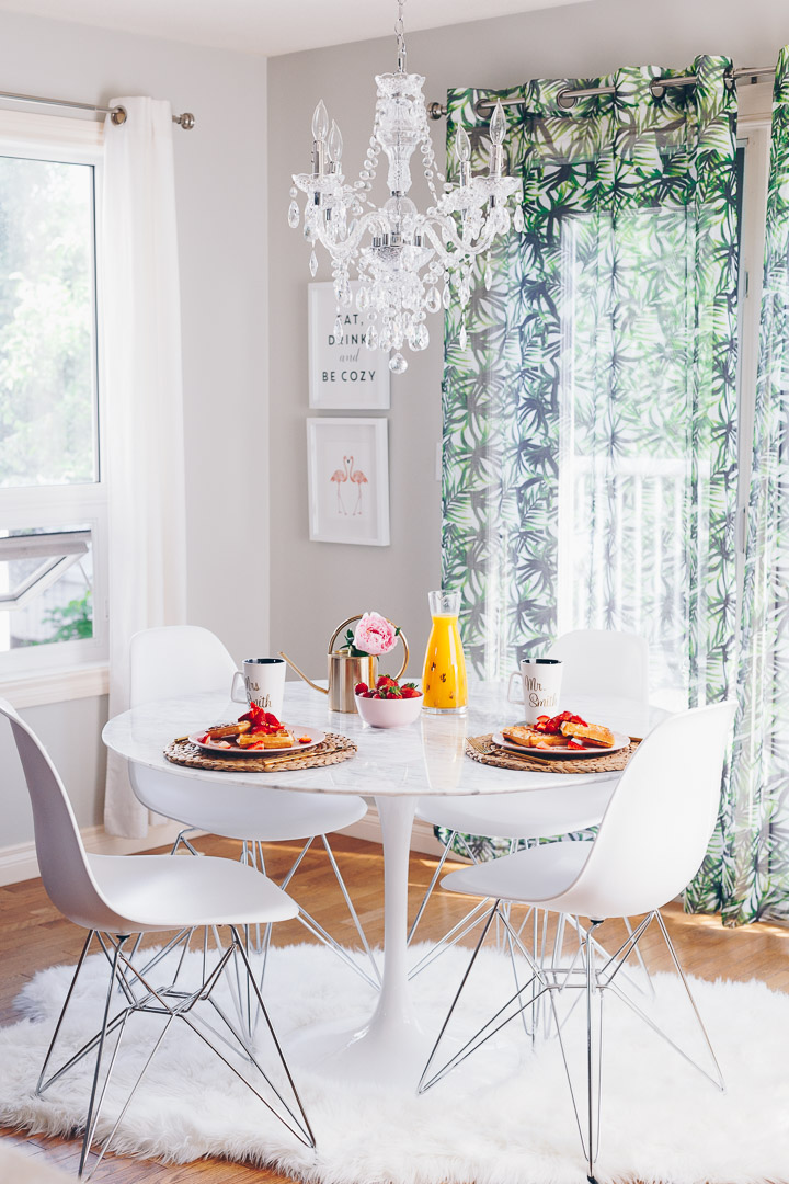 marble dining room makeover w joss main over my