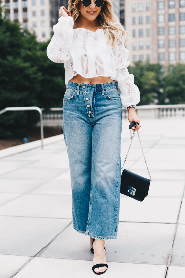 Fall Wide Leg Denim