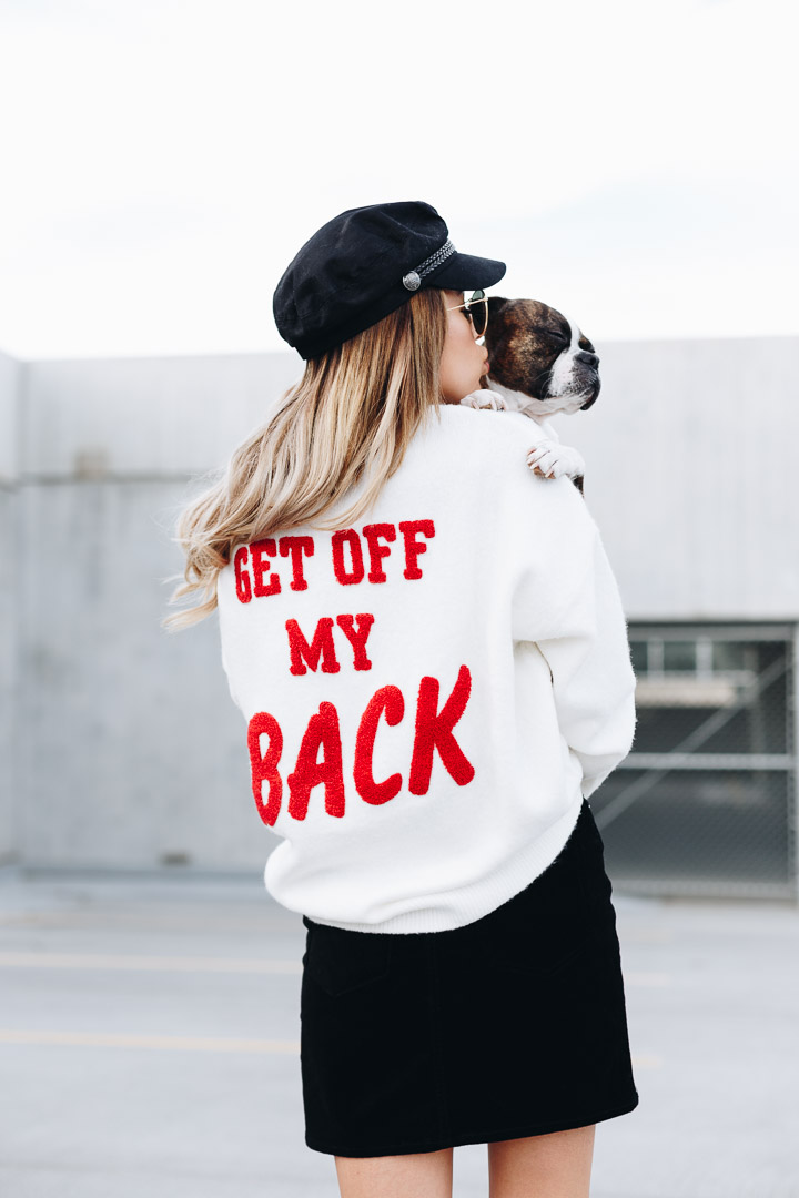 H&M Get Off My Back Sweater