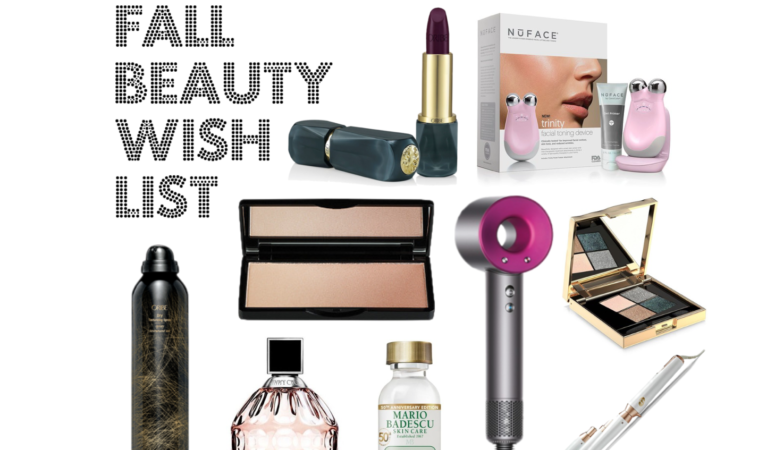 Fall Beauty Wish List
