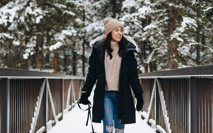 The Best Winter Parka & 5 Things to Try In Banff This Season