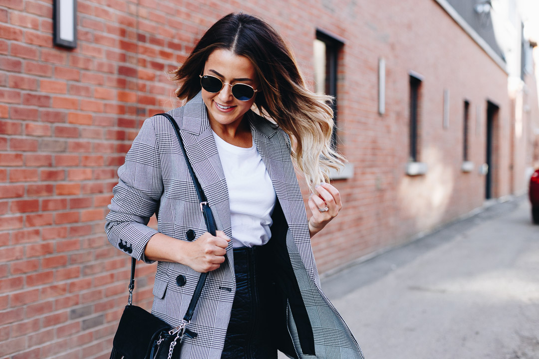 Fall Must Have: The Checkered Blazer - Over My Styled Body