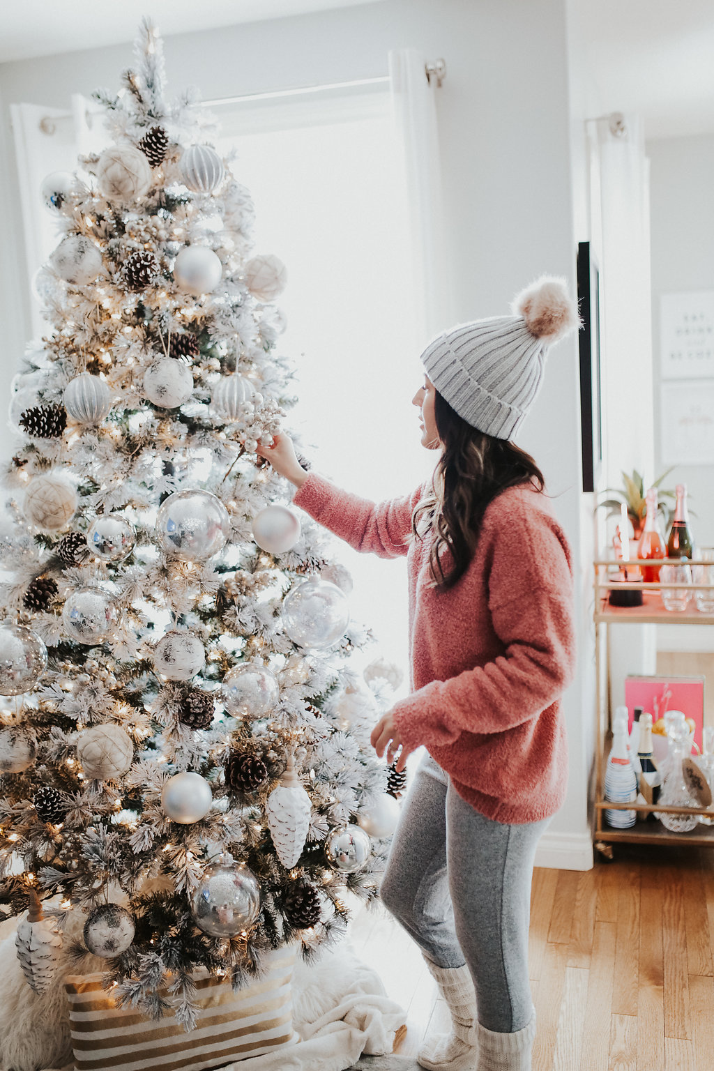 Decorating Our First Christmas Tree - Over My Styled Body