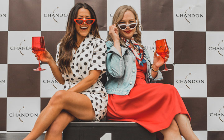 Formula 1 in Montreal with Chandon